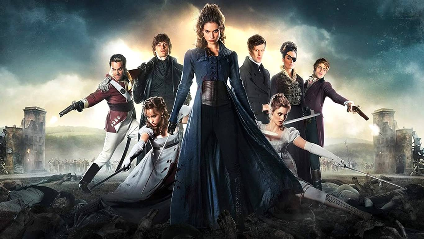Pride And Prejudice And Zombies on Movies & TV