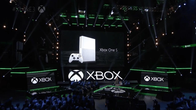 E3 2016 Xbox One S announcement