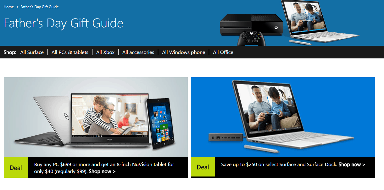 Microsoft Store has Surface, Xbox, Lumia, and more on sale for Father's Day OnMSFT.com June 13, 2016