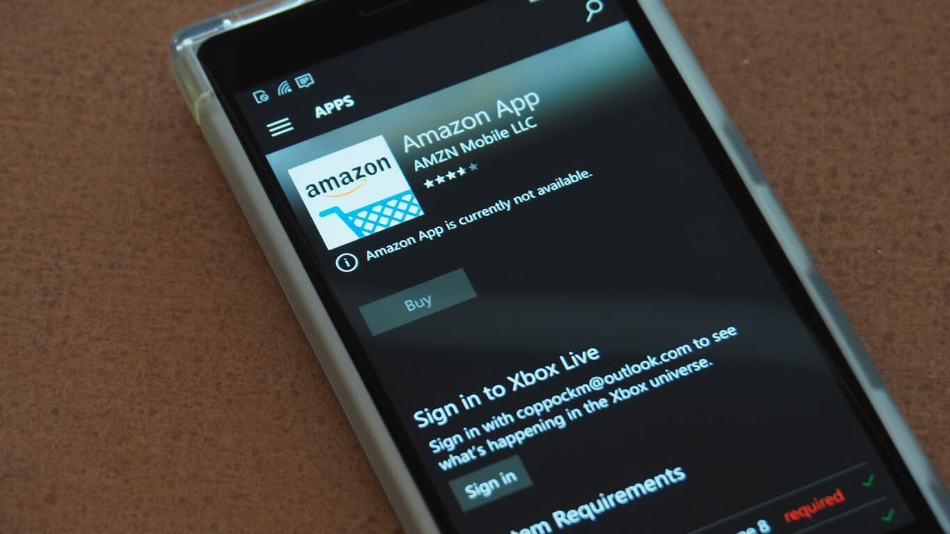 Amazon removes windows phone app from windows store no for Replacement window rankings