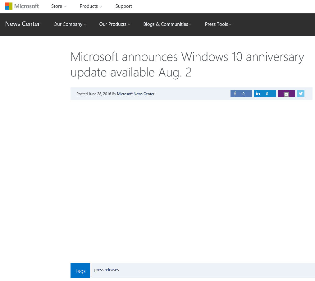 Anniversary-Update-707x630 Windows 10 Anniversary update available August 2nd, says Microsoft press release headline