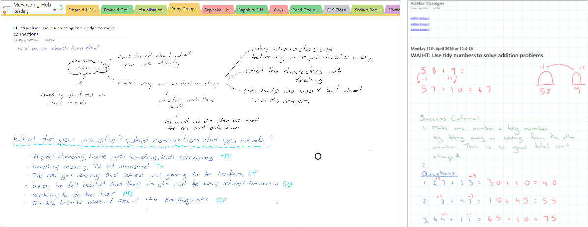 Onenote class notebooks makes it easy to create digital modeling books - onmsft. Com - june 15, 2016