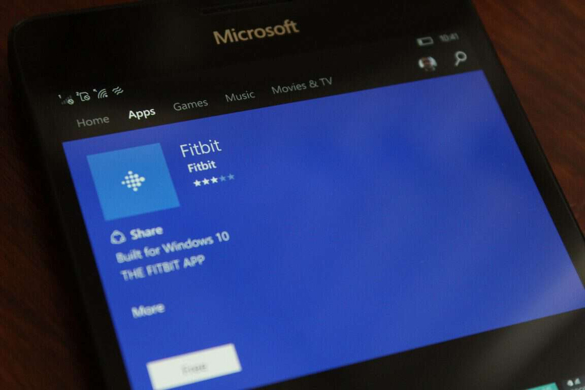 FitBit Windows 10
