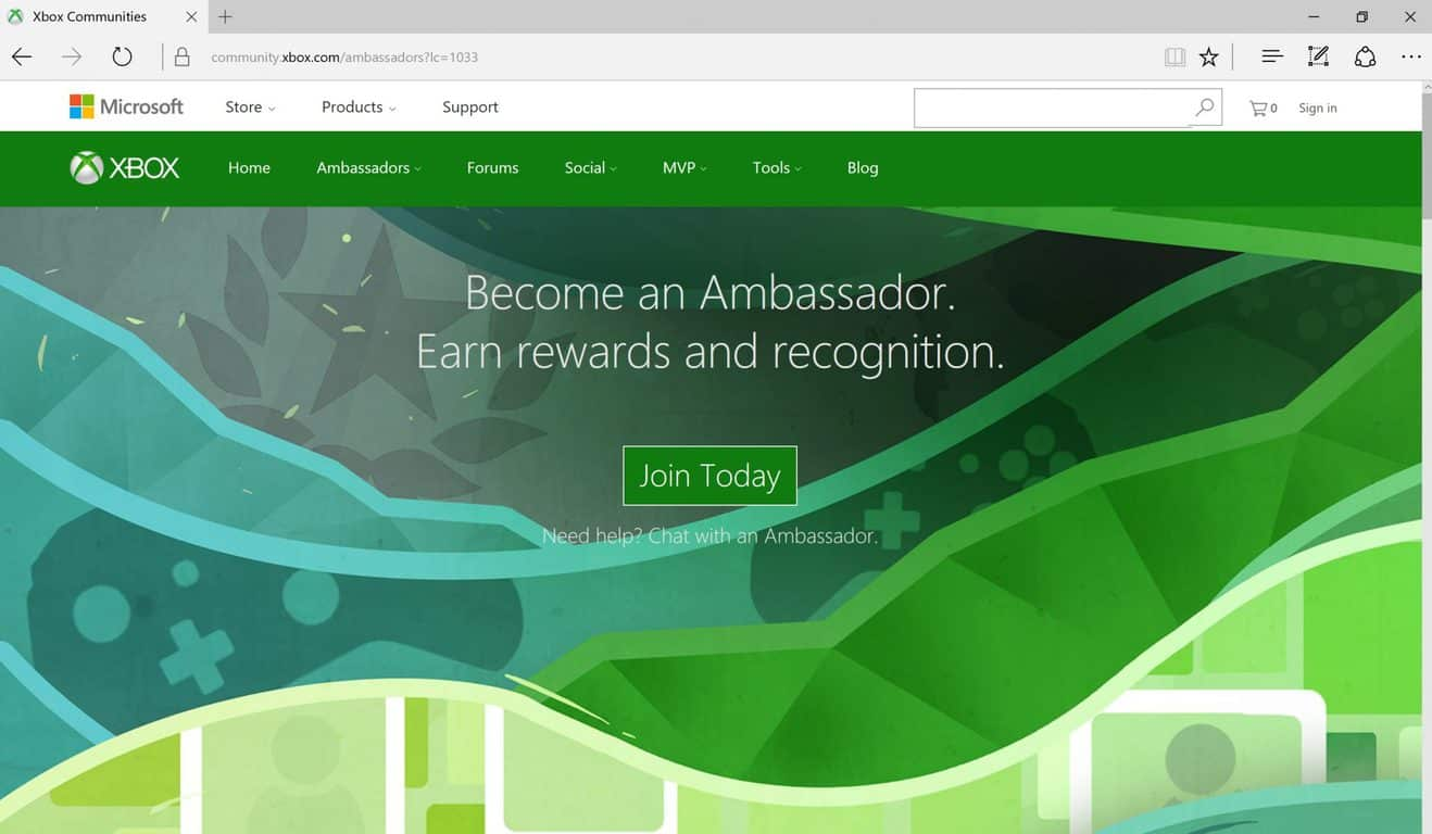 Join Xbox Ambassadors, Microsoft, Xbox