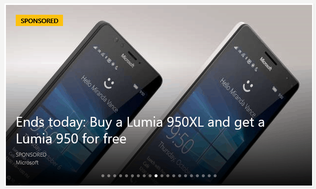 Microsoft is promoting the offer on MSN.com today.