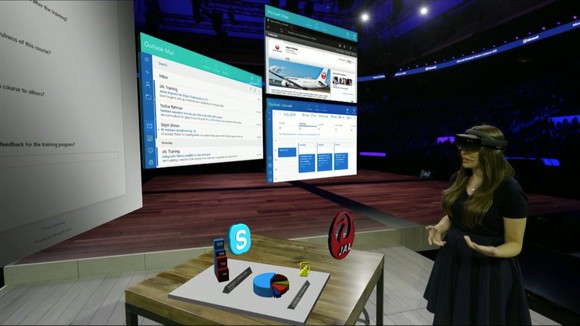 Microsoft sees hololens as the center of the office of the future - onmsft. Com - july 11, 2016