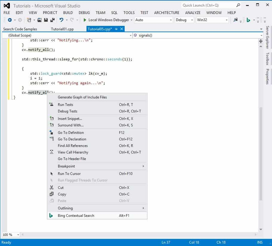 Visual Studio, Developer Assistant