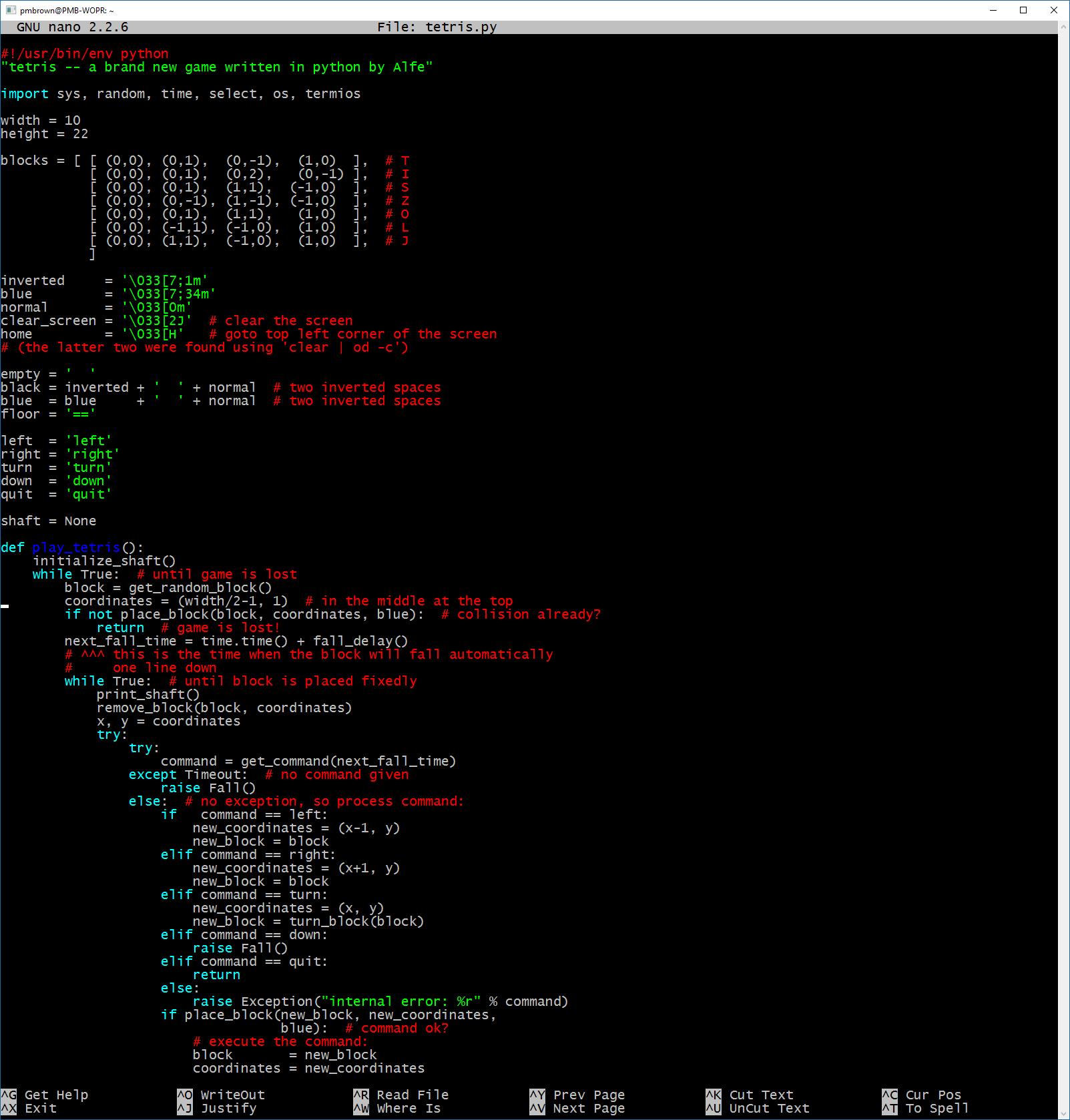 Python shell scripting linux pdf
