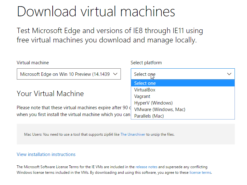 how to build a virtual machine on windows 7