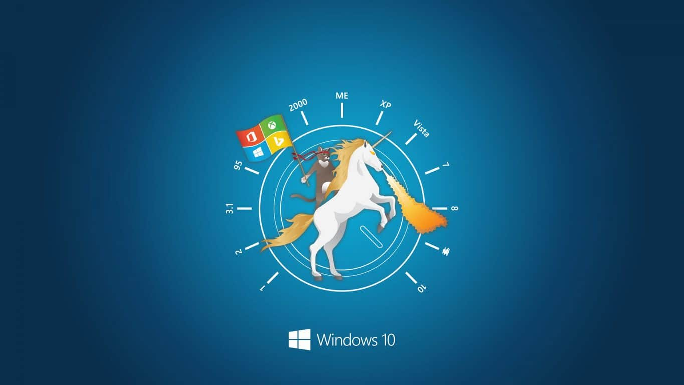 Celebrate the windows 10 anniversary update with these fan art