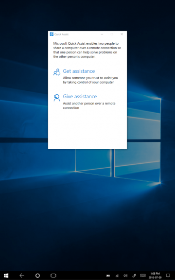 Microsoft's Quick Assist makes another appearance in Windows 10 build 14383 OnMSFT.com July 9, 2016