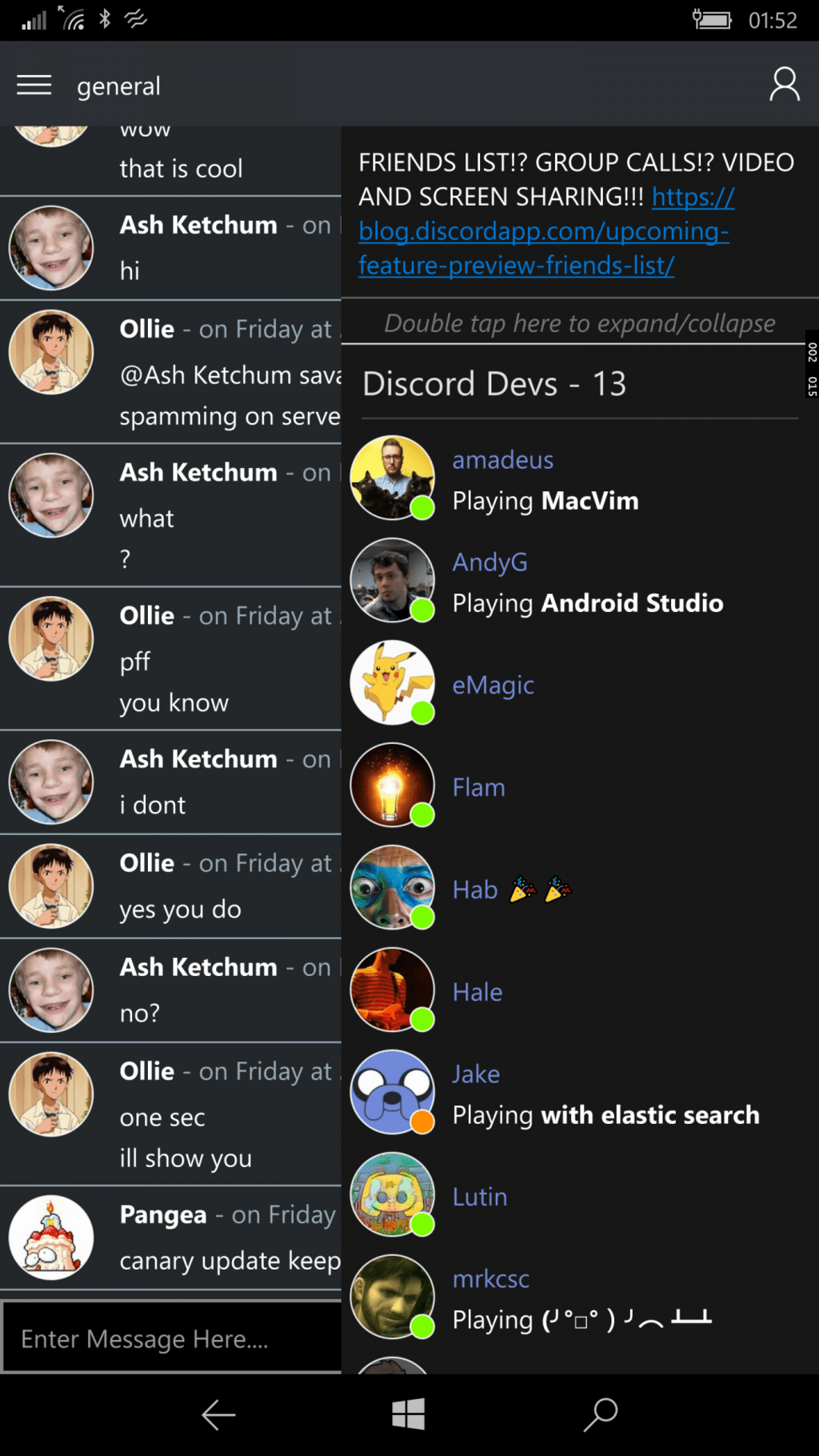 Third-party Discord app Clamour is coming to Windows 10 Mobile OnMSFT.com July 23, 2016