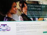 Microsoft professional degree in data science