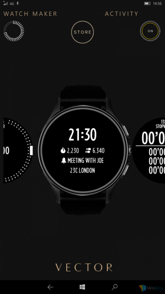 First impressions of the Vector Luna smartwatch in Rose Gold OnMSFT.com July 30, 2016
