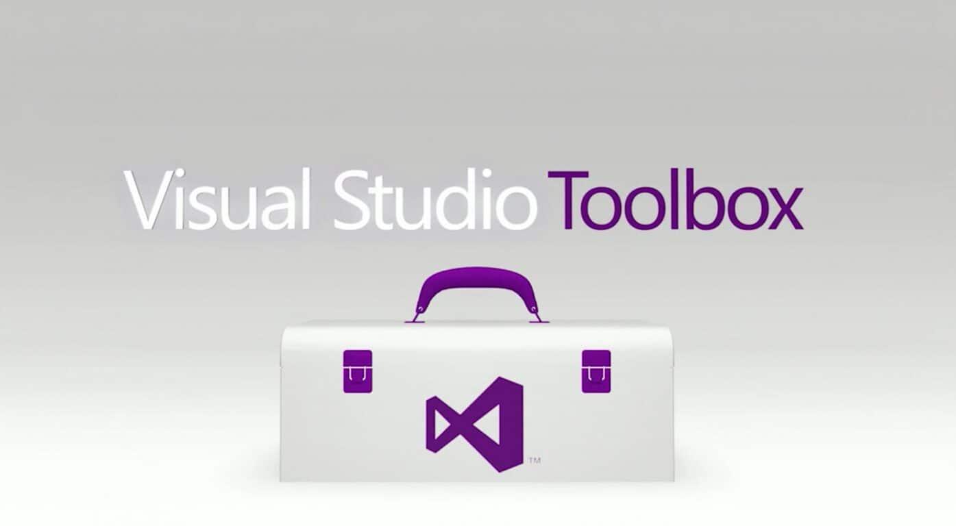 visual studio toolbox