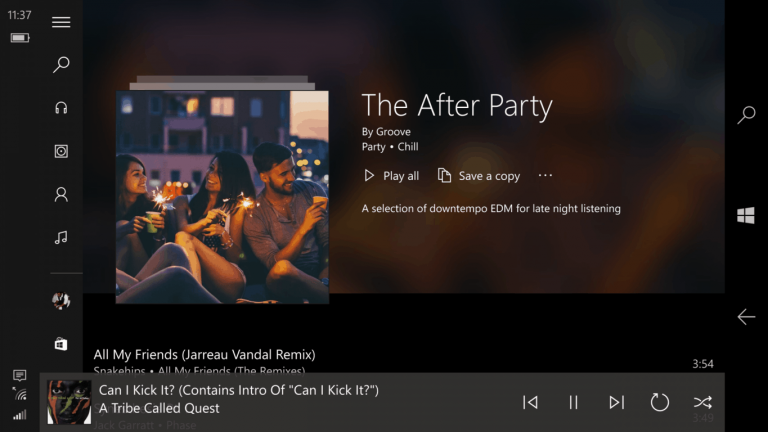 Using the newly refined explore and your groove sections in groove music - onmsft. Com - july 1, 2016