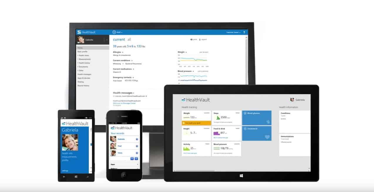 Microsoft's HealthVault app