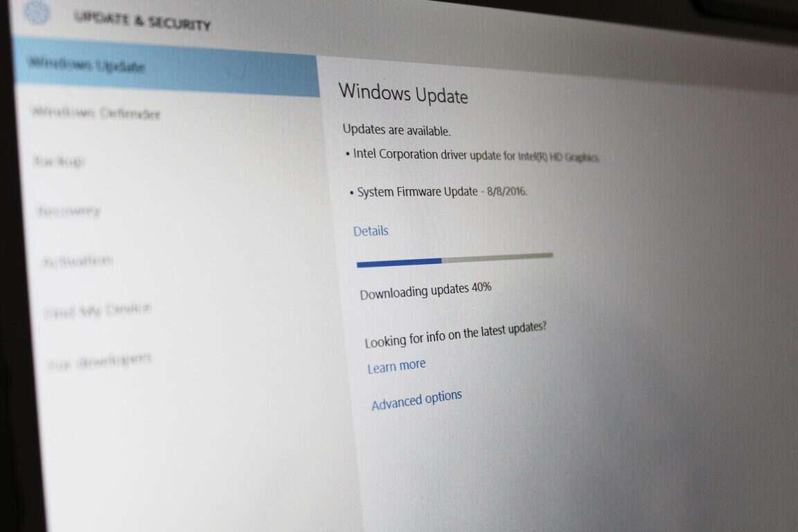 Surface 3 Firmware Update