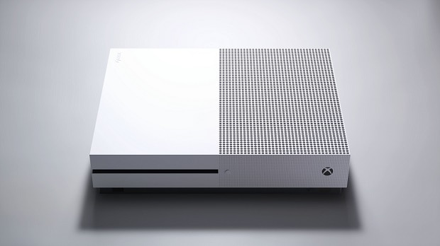 The new Xbox One S.