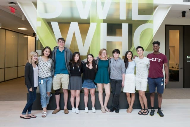 microsoft interns spend a summer as  u0026quot doers  not talkers