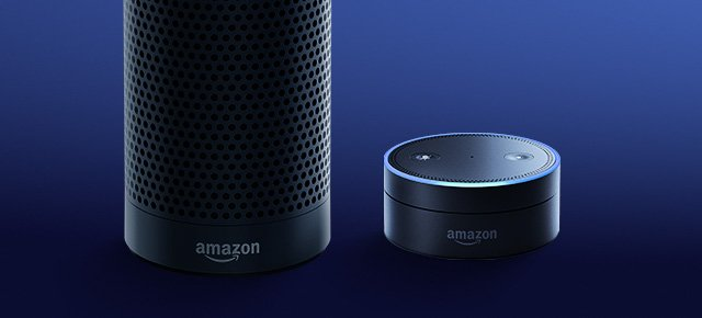 The Alexa-powered Amazon Echo & Echo Dot.