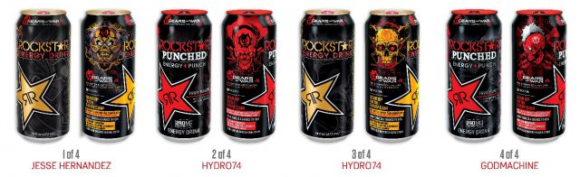Gears-of-War-4-Rockstar-Drinks-e1472775075470 Drink Rockstar out of a custom Gears of War 4 can thanks to latest promotion