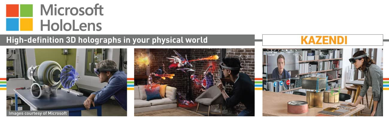 Try microsoft's hololens at ip expo in london next month - onmsft. Com - september 21, 2016