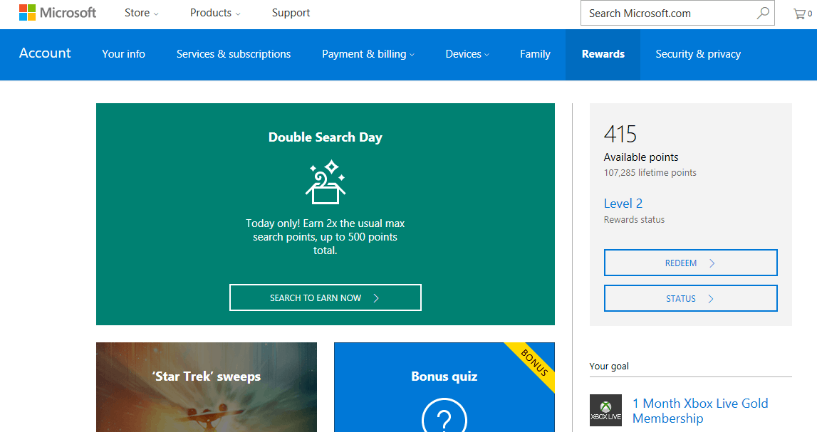 Bing Rewards replaced by Microsoft Rewards as the ...