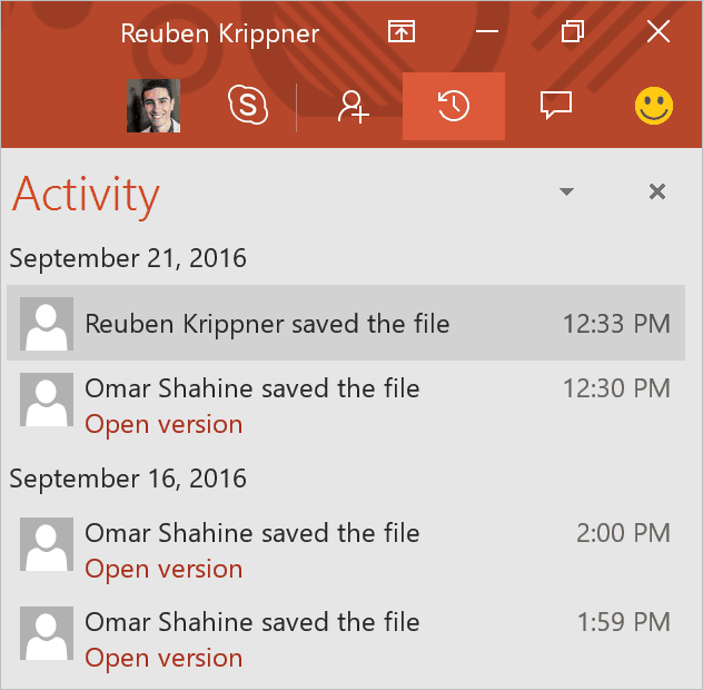 OneDrive will be more deeply integrated to the Office apps.