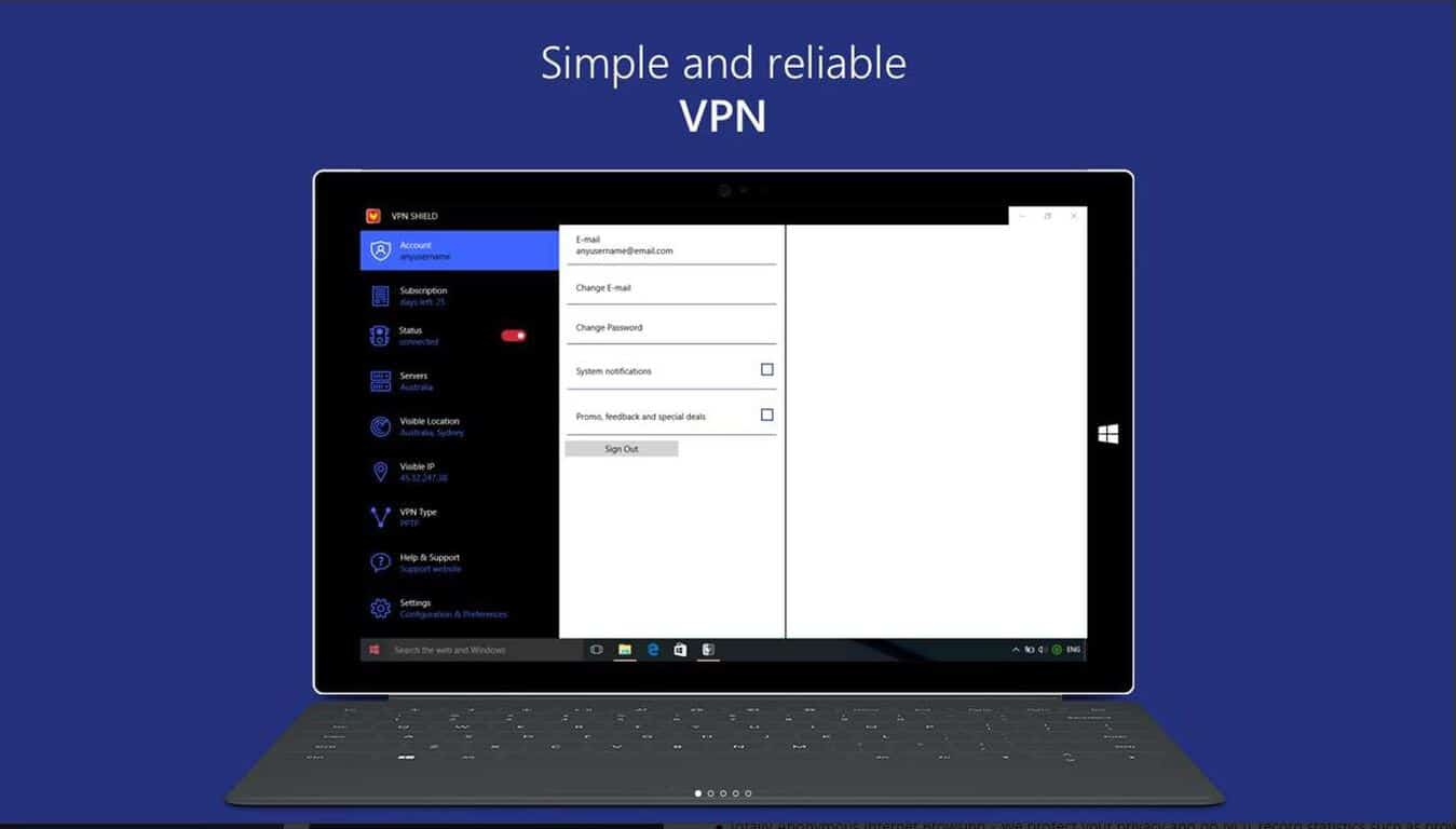 how to create a vpn app