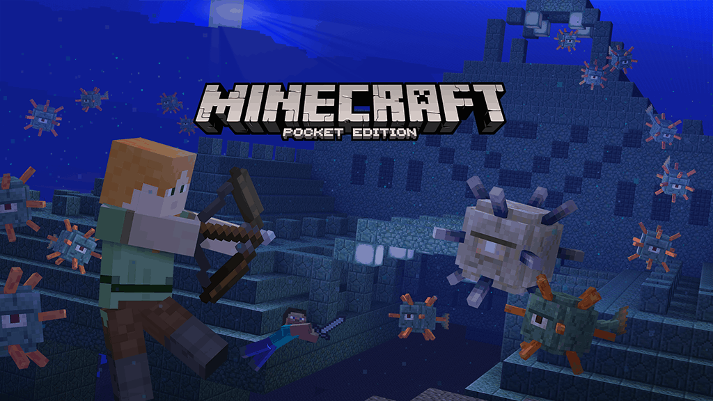 Minecraft Pocket Edition and Windows 10 Beta Boss Update