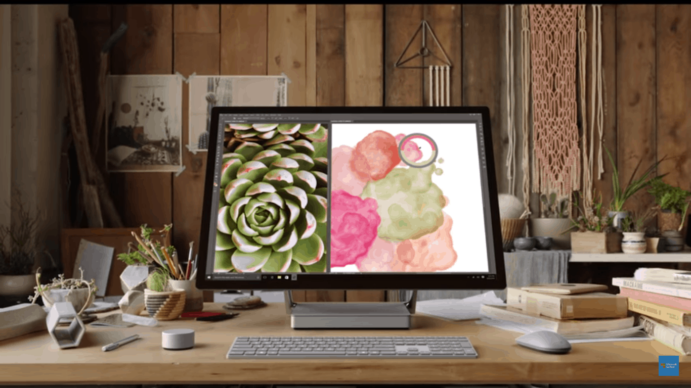 Microsoft Surface Studio with Ink