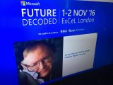 Stephen hawking to headline keynote at microsoft's future decoded business event next month in london - onmsft. Com - october 12, 2016