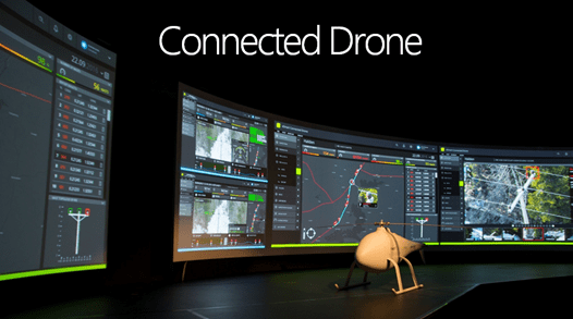 Connected Drone