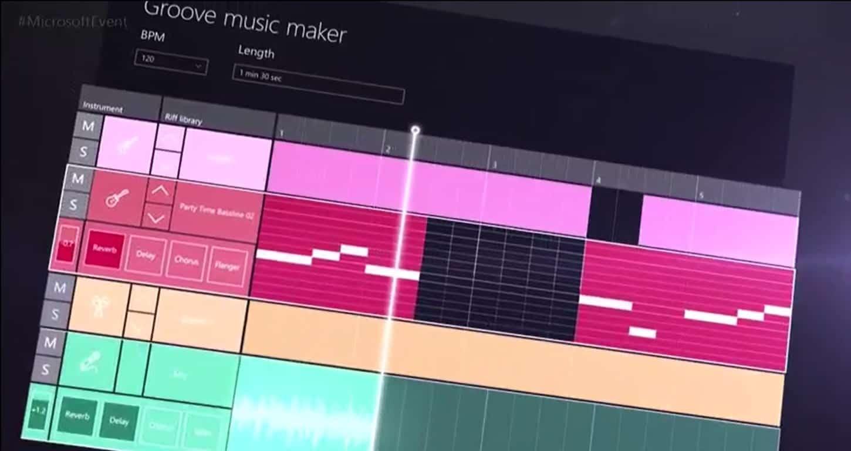 Groove music maker app