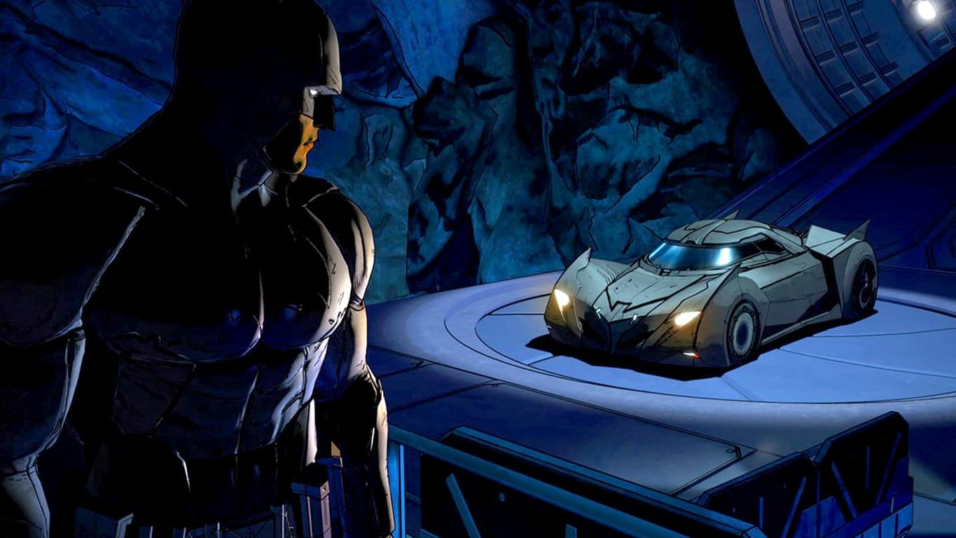 Batman - The Telltale Series video game on Xbox One