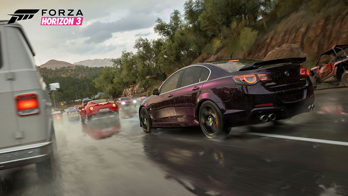 Forza Horizon 3 is being delisted; now on sale