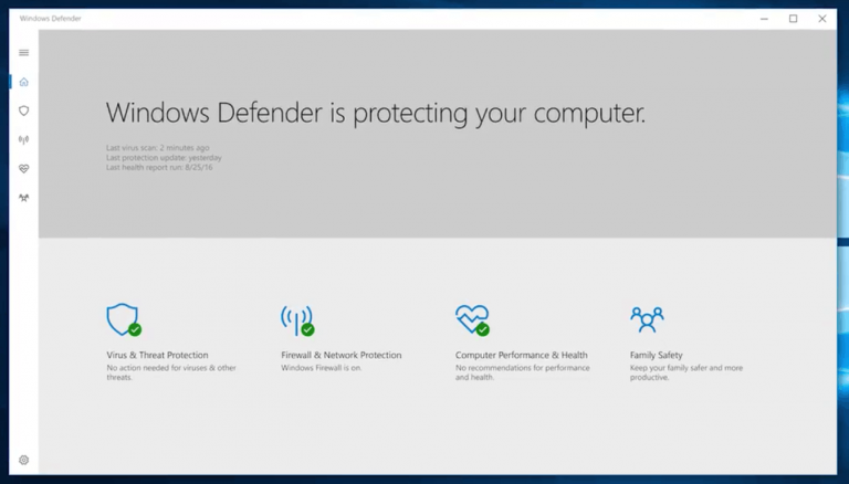 Microsoft working on a uwp version of windows defender - onmsft. Com - october 26, 2016