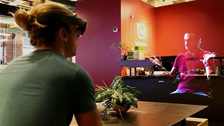HoloBeam on HoloLens