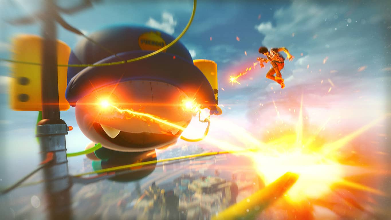 Sunset Overdrive on Xbox One