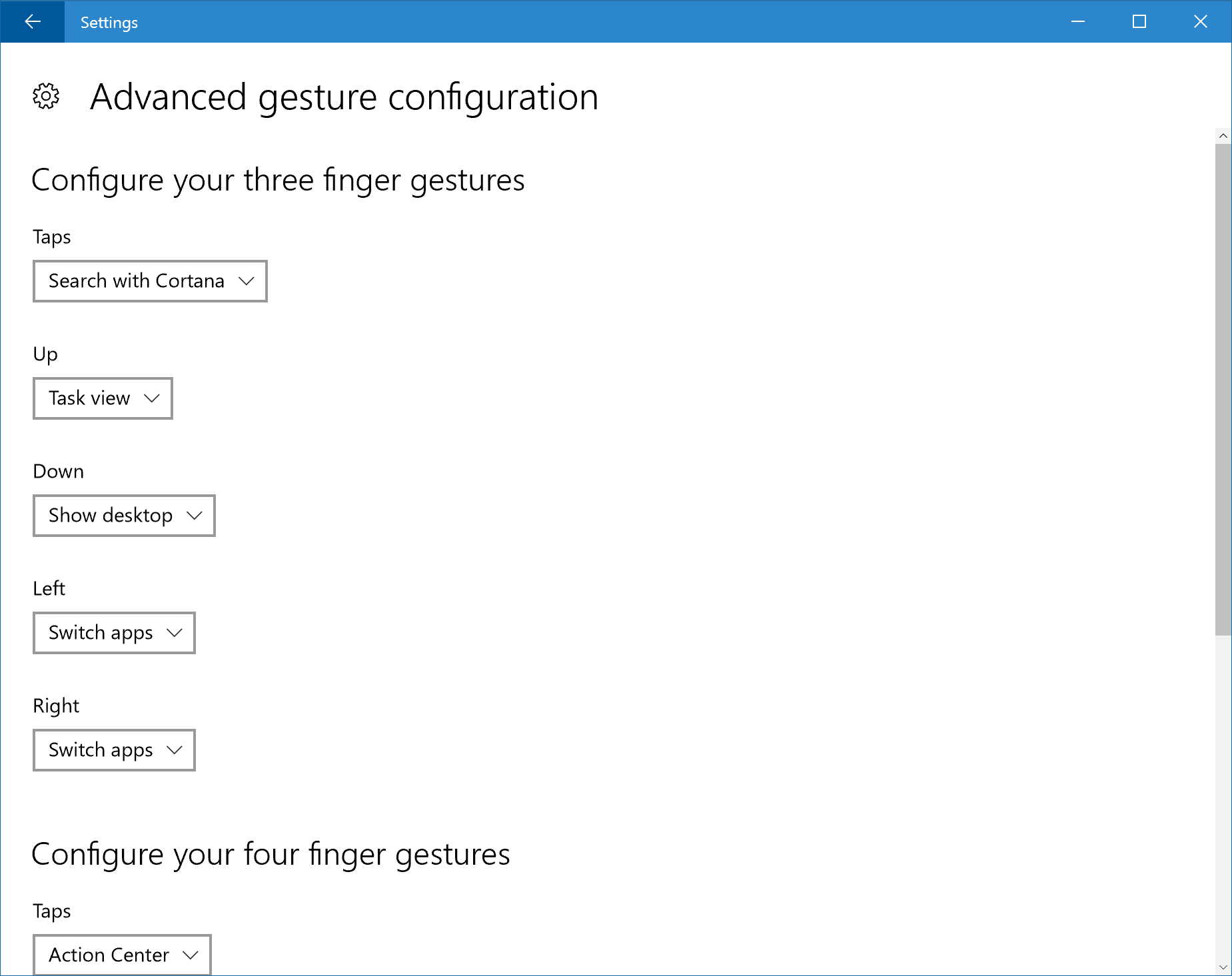 how to change keyboard configuration windows 10