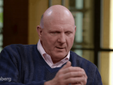 Steve ballmer former ceo microsoft speaks about bill gates on bloomberg television