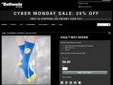 Those Fallout 4 socks you've been craving are 25% off at the Bethesda Store this Cyber Monday OnMSFT.com November 28, 2016