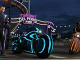 Check out the tron-meets-gta trailer for the new gta online: deadline update - onmsft. Com - november 9, 2016