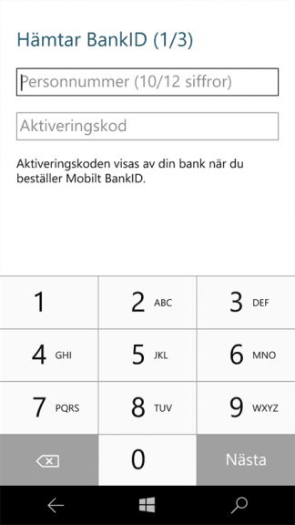 Scandinavian banking app BankID for Windows 10 Mobile updated to UWP OnMSFT.com November 18, 2016
