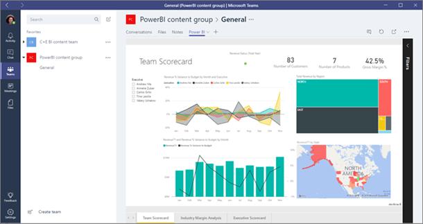 Power BI Groups will be built into Microsoft Teams too OnMSFT.com November 7, 2016