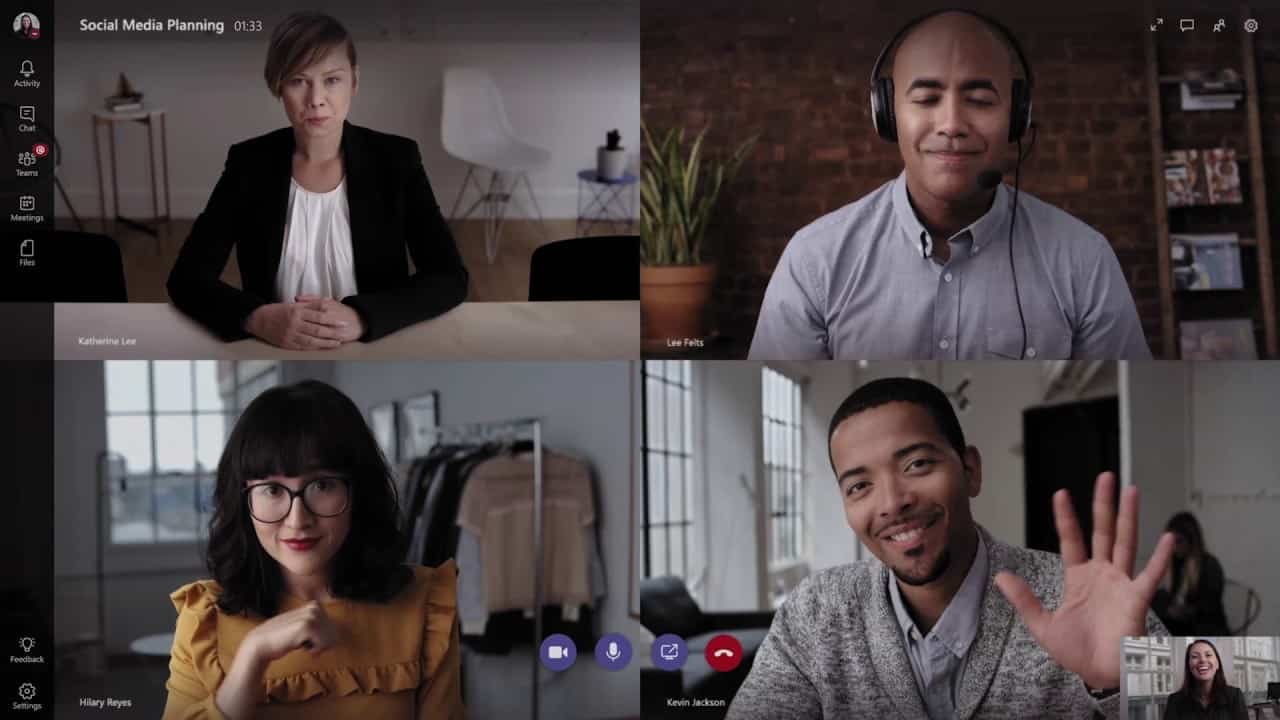 Microsoft Teams Skype Conference