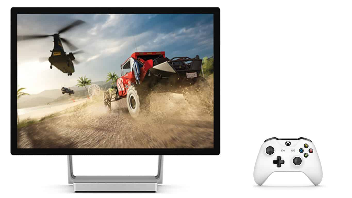 Microsoft's Surface Studio and Xbox Controller