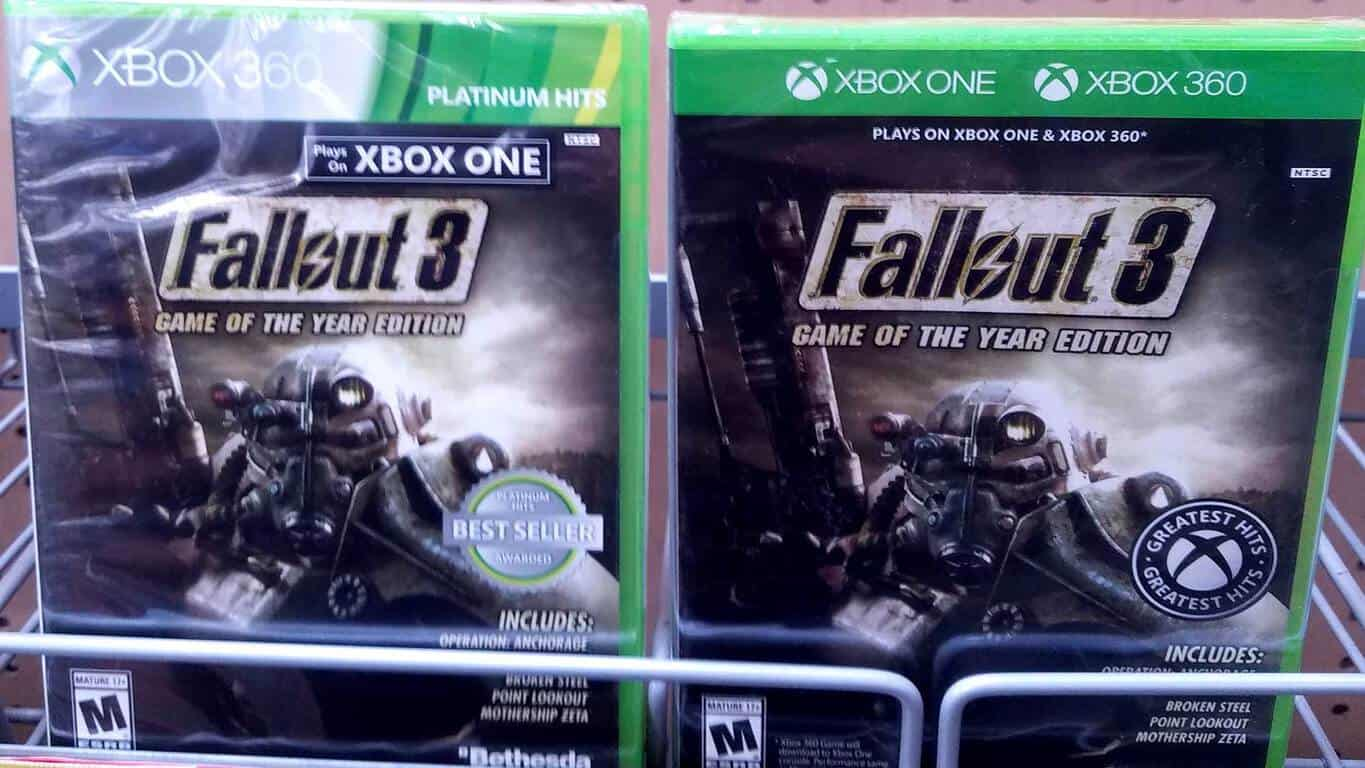 New Box Games : New box design spotted for xbox backwards compatible