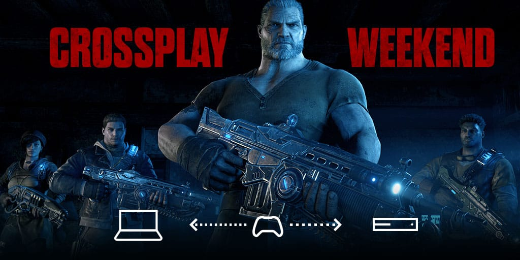You can now cross-play gears of war 4 between xbox one and windows 10 using social quickplay! - onmsft. Com - january 27, 2017